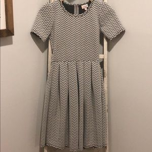 LuLaRoe Amelia Chevron Dress